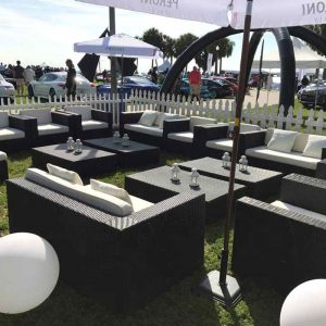 Outdoor Wicker Furniture Rental