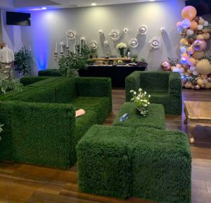 Grass Turf furniture pieces
