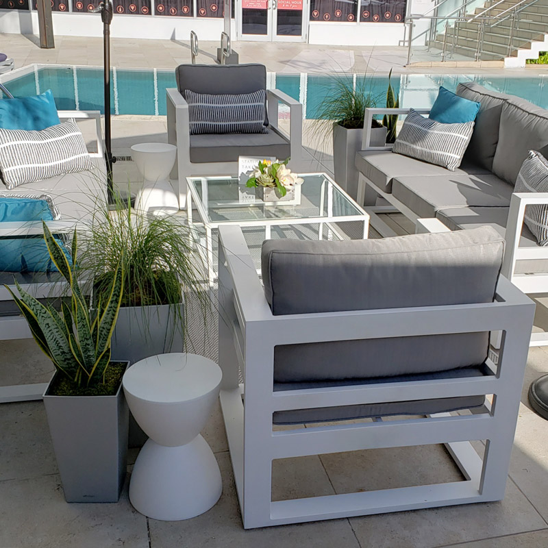 Aluminum Furniture for Events